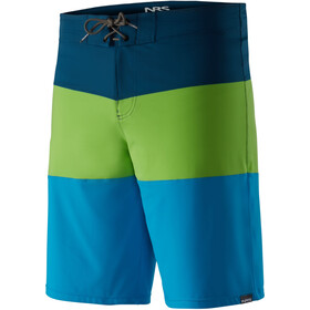 NRS Benny Shorts Herre blue/green